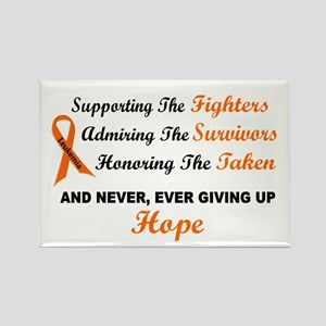 Supporting Admiring Honoring 1 LEUKEMIA Magnets