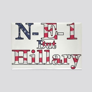 NE1 but Hillary Rectangle Magnet