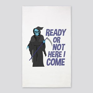 Ready Or Not Area Rug