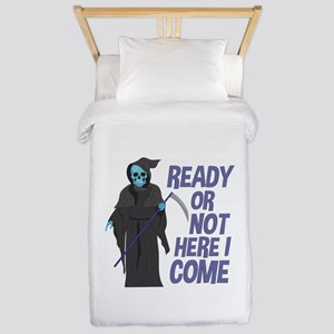 Ready Or Not Twin Duvet