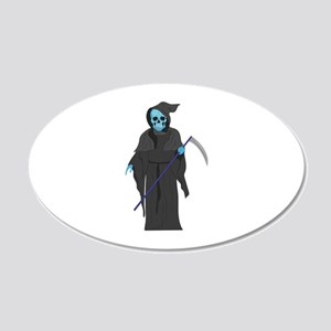 Grim Reaper Wall Decal