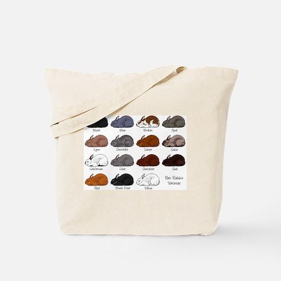 Rex Rabbit Tote Bag