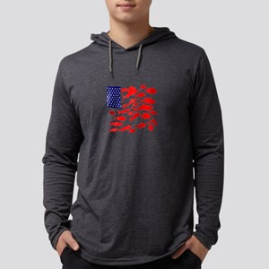 FREEDOM FISH Long Sleeve T-Shirt