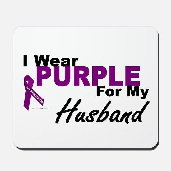 I Wear Purple For My Husband 3 (PC) Mousepad