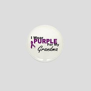 I Wear Purple For My Grandma 3 (PC) Mini Button