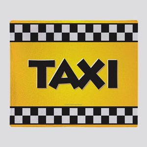 Taxi Throw Blanket