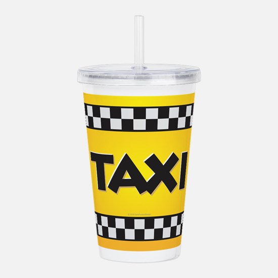 Taxi Acrylic Double-wall Tumbler