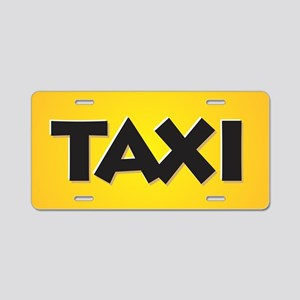 Taxi Aluminum License Plate