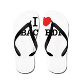 I love bacardi Flip Flops