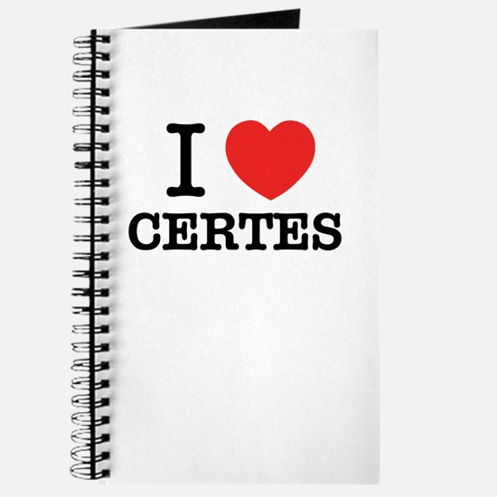 I Love CERTES Journal