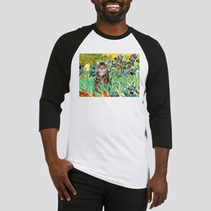 Irises / Tiger Cat Baseball Jersey