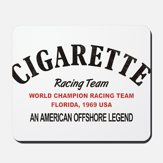Cigarette racing team Mousepad