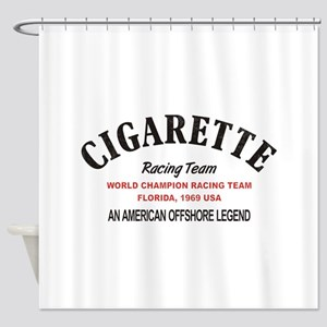 Cigarette racing team Shower Curtain