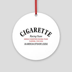 Cigarette racing team Round Ornament