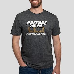 Prepare For The Alpacalypse Mens Tri-blend T-Shirt