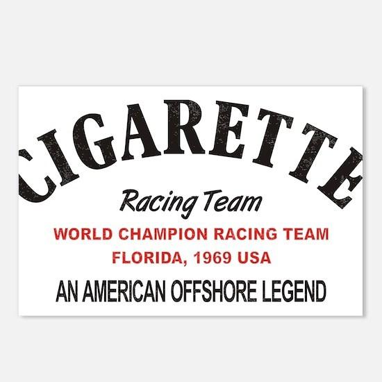 Cigarette racing team Postcards (Package of 8)