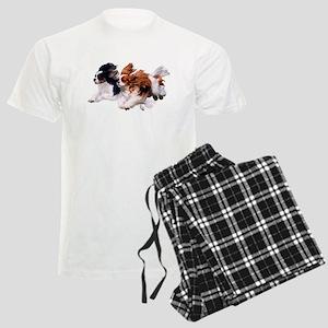 CavaliersonWhite Pajamas