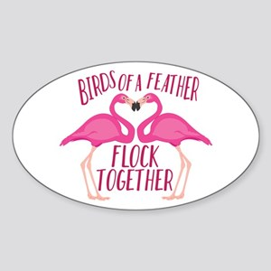 Birds Of Feather Sticker
