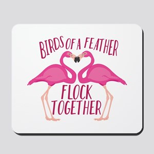 Birds Of Feather Mousepad