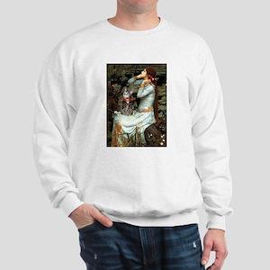 Ophelia / Tiger Cat Sweatshirt