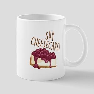 Say Cheesecake Mugs