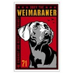 Obey the Weimaraner! Large Poster