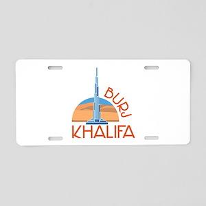 Burj Khalifa Aluminum License Plate