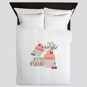 So Cherryful Queen Duvet