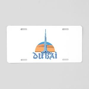 Burj Khalifa Dubai Aluminum License Plate