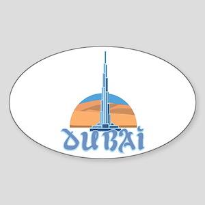 Burj Khalifa Dubai Sticker