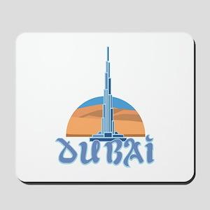 Burj Khalifa Dubai Mousepad
