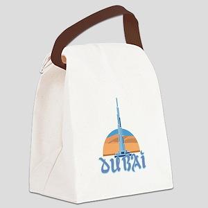 Burj Khalifa Dubai Canvas Lunch Bag