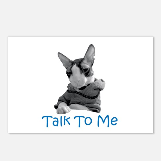 Talk to Me Postcards (Package of 8)
