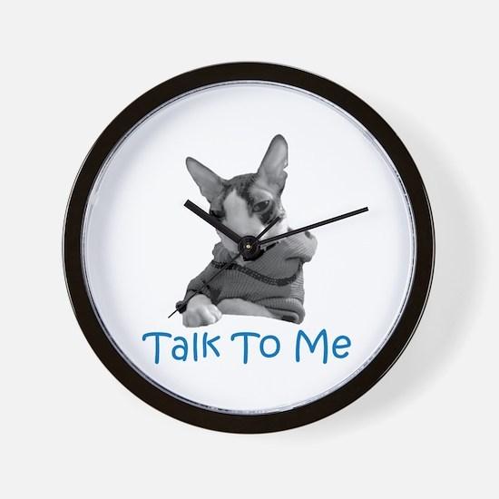 Talk to Me Wall Clock