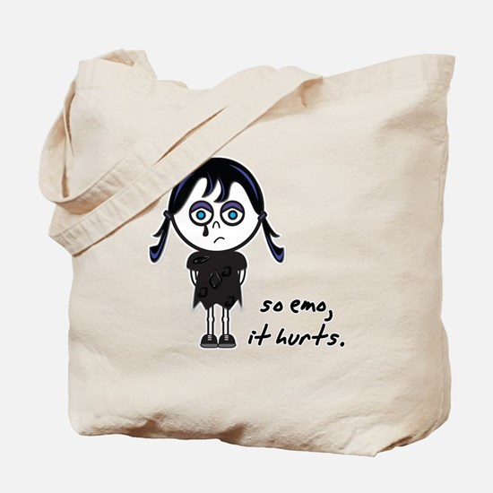 So Emo, It Hurts (Emo Girl) Tote Bag