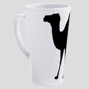 Camel Silhouette 17 oz Latte Mug