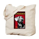 Obey the Weimaraner! Tote Bag