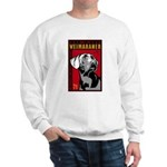 Obey the Weimaraner! Dictator Sweatshirt