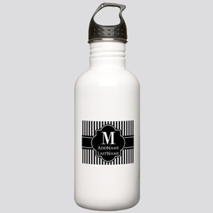 Stripes Pattern with M Stainless Water Bottle 1.0L