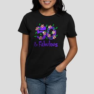 50 and Fabulous Women's Dark T-Shirt