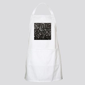 chic glitter black Sequins Light Apron