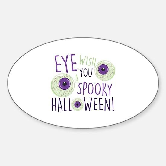Spooky Halloween Decal