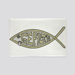 Gefilte fish Rectangle Magnet