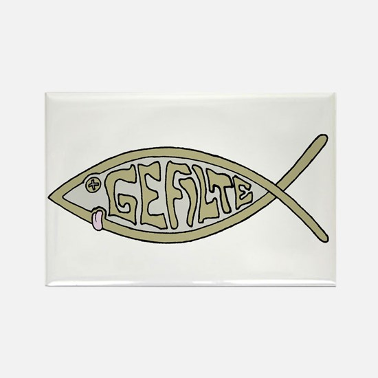Gefilte fish Rectangle Magnet