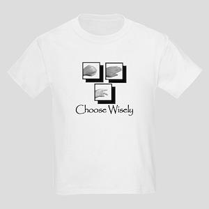 Rock, Paper, Scissors Kids Light T-Shirt