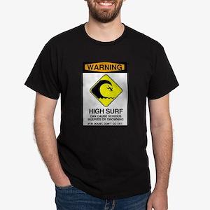 Warning Sign White T-Shirt