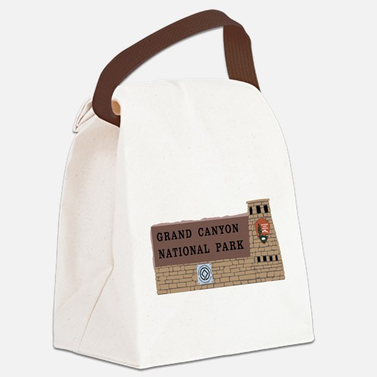 Grand Canyon National Park, Arizo Canvas Lunch Bag