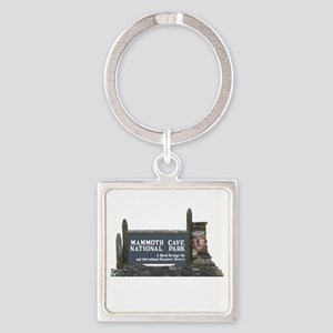 Mammoth Cave National Park, Kentuc Square Keychain