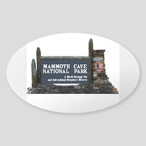 Mammoth Cave National Park, Kentuck Sticker (Oval)