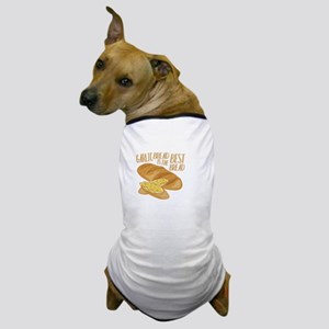 Garlic Bread Dog T-Shirt